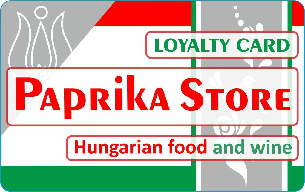 Törzsvásárlói program már Notthinghamben is – Paprika Store 4555615343